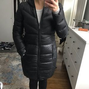 BCBG lightweight puffer coat